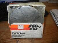 Open Box K&N Air Filter BSA Triumph AMAL 1 3/4 - 1 7/8 RC-37