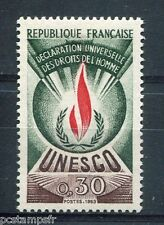 FRANCE, 1969-71, timbre de SERVICE 39, UNESCO, DROITS HOMME, neuf**