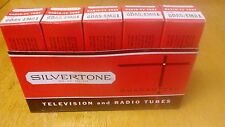 Sleeve of 6DA5 / EM81 Vintage Silvertone Magic Eye Audio Tuner Tubes NOS in Box