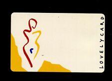 "Telefonkarte ""Lovely Card""  K Karte von 1992 (T1)"