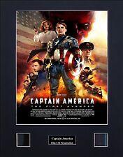 Captain America Photo Film Cell Presentation