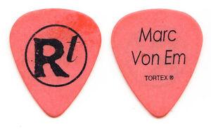 Matchbox Twenty 20 Rob Thomas Marc Von Em Orange Guitar Pick #2 - 2005 Solo Tour