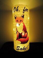 Fox Lantern No.373, fox lamps, woodland animal lamps, night lights