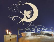 Moon Fairy - highest quality wall decal stickers