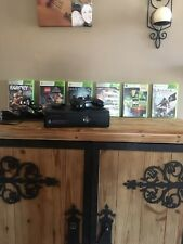Xbox 360 Console 6 Games , One Controler And Rechargable Battery And Station