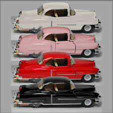 4 Kinsmart 1953 Cadillac Series 62 HARD TOP 1:43 Scale Die Cast NO-BOX