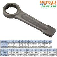 Strong Slugging Ring Spanner Slogging/Striking/Flogging High Quality 12mm - 51mm