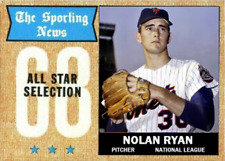 NOLAN RYAN 68 AS ACEO ART CARD ## BUY 5 GET 1 FREE ## & FREE COMBINED SHIPPING