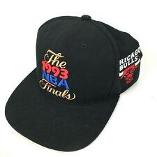 Vintage Chicago Bulls 1993 NBA Finals Snapaback Hat Cap Last Dance Jordan