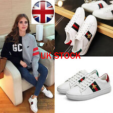 Womens Casual Sneakers Sports Athletic Leisure Running Flat Trainers Shoes UK
