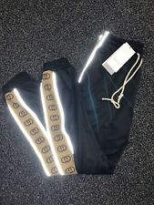 Gucci Reflective GG logo Tape-trim Track Pants Joggers Size SMALL RRP - £780