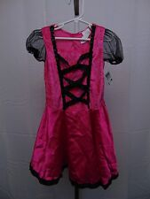 Totally Ghoul Pink Witch Girls' Halloween Dress-up Costume Dress Medium #1032