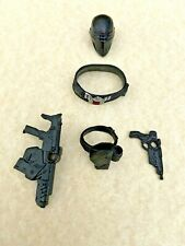 2020 HASBRO GI*JOE CLASSIFIED SNAKE-EYES 02 HEAD GEAR WEAPONS LOT LOOSE