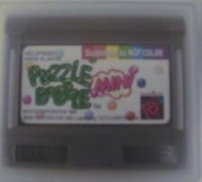 Puzzle Bobble Mini Neo Geo Pocket Color Game English UK Version Never used