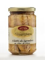 Filetti di Sgombro in olio di oliva vaso da 300g di prima scelta
