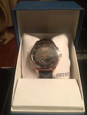 New in Box Seiko 5M84 Kinetic Mens Watch