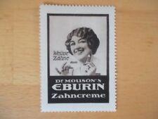 (1208) Reklamemarke Dr. Mouson´s Eburin Zahncreme