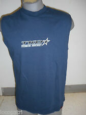 Mens Licensed TKO Technical Knockout Navy Blue Tank Top Shirt New L