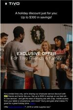 TiVo employee discount code