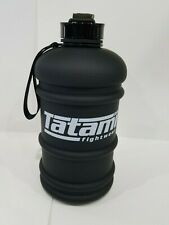 New Tatami Jiu-Jitsu Bjj 2.2L 1/2 Half Gallon Gym Training Sports Water Bottle