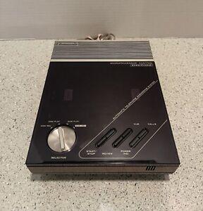 Vintage Panasonic KX-T1415D EASA- Dual Tape Phone Answering Machine