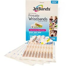 JetBands Printable Tyvek Wristbands LabelJet Printer Compatible (100 Bands)