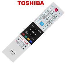 More details for genuine toshiba ct-8533 tv remote control rakuten tv, netflix, fplay 2018 models