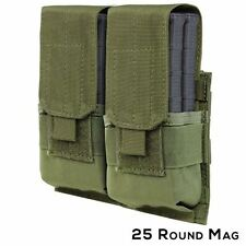 Condor Tactical Double 7.62mm Mag Pouch - OD Green #191089