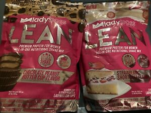 Ladyboss Lean Strawberry Shortcake & Peanut Butter Cup! Limited Edition!