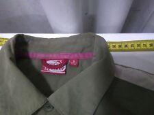 Mens Jarvis Walker Shirt, S, Chest 90cms, green, Short Sleeves, Cotton / Nylon