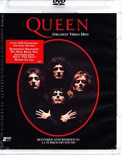 QUEEN - GREATEST VIDEO HITS 2 DISC SET 33 VIDEOS FREDDIE MERCURY REGION FREE