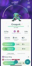 🐸POKEMON GO SHINY🐸✨ - CROAGUNK (Registered or 30 Days)