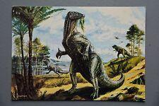 R&L Postcard: Dinosaur, Iguanodon, JA Dixon