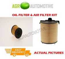 PETROL SERVICE KIT OIL AIR FILTER FOR SEAT TOLEDO 1.4 125 BHP 2007-09