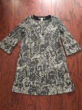NWT DIANE VON FURSTENBERG Gray Wool Gaby Shift Dress Size 6