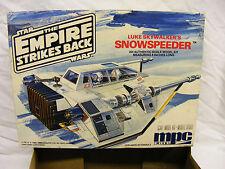STAR Wars-VINTAGE MPC/ERTL-Luke Skywalker'S Snowspeeder (Assemblato) - FLACONE