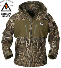 f2f0ee1d BANDED 1/4 Quarter Zip Waterproof Hooded Pullover Jacket Bottomland Camo 2xl