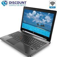 "HP Laptop 8570w 15.6"" Computer PC i7 16GB 1TB Windows 10 Pro Mobile Workstation"
