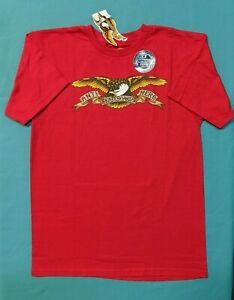 Antihero Skateboards Eagle Logo T-Shirt Red S NWT FREE SHIPPING!