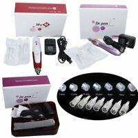 Electric Derma Pen Micro Needle Anti Aging Dr.pen M5/M7/MYM+Cartridges Needles
