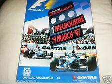 BELGIAN GRAND PRIX SPA 1988 PROGRAMME MICHAEL SCHUMACHER ARROWS DAMON HILL F1 GP