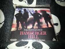 Hamburger Hill NEW SEALED Widescreen Laserdisc LD Free Ship $30 Orders