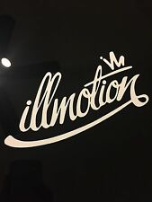 Illmotion Ill Sticker Decal Jdm Drift Racing Illest Euro Slammed Stance Domo