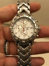 Altanus Chronograph pre owned chrono date 38 mm