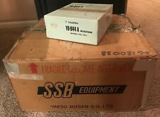 Yaesu FT-101ZD HF SSB Transceiver HAM Radio Microphone Manual Orig. Box WORKS!