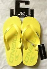 O'NEILL FTM THE FIRST LEMON SORBET FLIP FLOPS MEN'S LADIES UNISEX UK6 EU39 BNWT