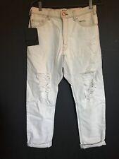 One Teaspoon Boyfriend Jeans Vintage Saints drop crotch Relaxed Slouch sz S new