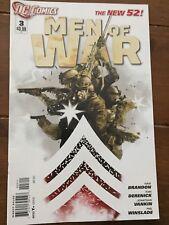 Men Of War #3 (2012) DC Comics New 52