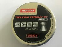 Norma  (RWS) Golden Trophy FT  Heavy Air Gun Pellets .22/5.50mm Qty 200 Free P&P