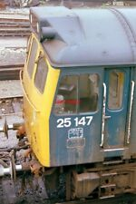 PHOTO  CLASS 25 DIESEL 25147 AT BESCOT ON 10/10/78.
